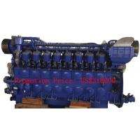 Wholesale Big Power 1000r / min 2938 KVA Marine Diesel Engine For Transportation Ships / Fishing Boats from china suppliers