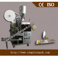 Wholesale Automatic Double Chamber Peppermint Tea Bag Packing Machine with Thread and Tag from china suppliers