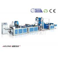 Wholesale Automatic 5 in 1 Non Woven Bag Making Machine For T-Shirt Bags , Width 100~800mm from china suppliers