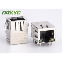 Wholesale 10/100 RJ45 Ethernet Connector with transformer, EMI Magnetic Modular Jacks from china suppliers