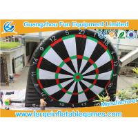 Wholesale Single Side Commercial foot dart Inflatable Dart Board for inflatable sport games from china suppliers