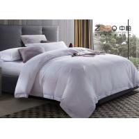 Wholesale Custom Hospital Bed Sheet / Hotel Collection Queen Sheet Set 200T-250T from china suppliers