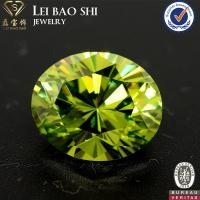 Quality AAA/AAAAA Grade Colored Oval shape brilliant cut faceted gemstone Cubic Zirconia in size 10*8mm for sale