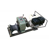 Wholesale 5Ton Petrol Engine Powered winch or Capstan Cable Winch , Gasoline Engine Powered Winch from china suppliers