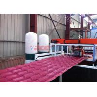 Wholesale Plastic PVC Roof Tile Making Machine For Glazed Tile Output 350kgh + 50kgh from china suppliers