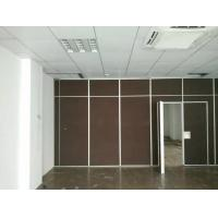 Wholesale Sound Proof Office Sliding Acoustic Room Divider Wall with Aluminium Frame from china suppliers