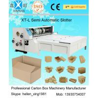 Wholesale Slotting Carton Folding Machine With Four Knives , Industrial Packaging Equipment from china suppliers