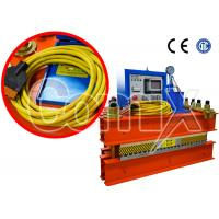 Quality 54 Inch Steel Cord Conveyor Belt Hot Vulcanizing Press 200 PSI CE Certification for sale