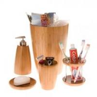 Quality Boomba Bamboo Waste Bin for sale
