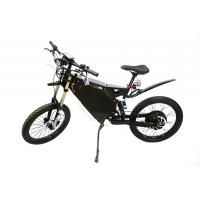 Quality 72V 8000W Hot Sale Enduro Ebike Mountain Ebike with Fast Speed 12km/h for sale