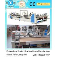 Wholesale Vacuum Feeding Carton Making Machine Stainless Steel With Touch Screen Control System from china suppliers
