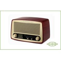 Wholesale Classic Style Radio with Alarm , Handmade Wood Cabinet , LCD Display with backlight from china suppliers