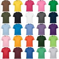 Wholesale Customize t-shirt OEM any color tee shirts cheap price guangzhou tensuit t shirt design from china suppliers