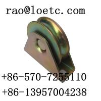 Wholesale zinc Y groove sliding gate wheel from china suppliers
