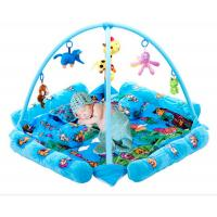 Wholesale Seabeach Blue Baby Play Gyms And Mats with Plastic and Stuffed Toys from china suppliers