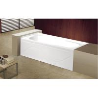 Buy cheap cUPC apron cheap acrylic bathtub 3 sides tile flange 4mm pure acrylic sheet from wholesalers