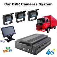 Wholesale 4Ch Hard Drive Car Dvr Recorder System With 3G / 4G / GPS / WIFI / G-Sensor from china suppliers