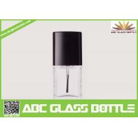 Wholesale High quality 18ml clear glass bottle with screw cap for nail polish from china suppliers