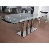 Wholesale Indoor Furniture Tempering Glass Rectangular Coffee Table Transparent from china suppliers
