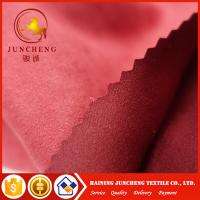 Wholesale 145gsm Microfiber suede fabric garment fabric wholesale dress fabric from china suppliers