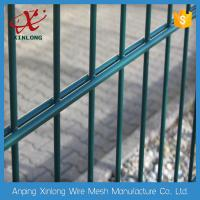 Wholesale Professional Double Wire Fence / Twin Wire Mesh Fencing Square Hole Shape from china suppliers