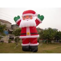 Wholesale OEM Oxford Blow Up Cartoon Characters Giant Inflatable Santa Claus from china suppliers