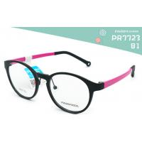 Wholesale Round Kids Eyeglass Frames Black Red 45MM Lens Width Low Cold Resistance from china suppliers