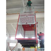 Wholesale Building Double Cage Hoist Red Paited 380V 50HZ Passenger Elevator from china suppliers
