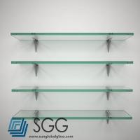 Wholesale tempered glass factory clear shelf glass price 6mm 8mm 10mm 12mm 15mm 19mm from china suppliers