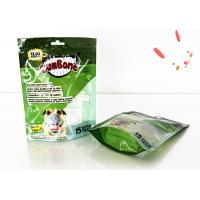 Wholesale Eco Friendly Vivd Printing Stand Up Pet Plastic Packaging With Zipper from china suppliers