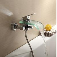 Wholesale Contemporary Waterfall Glass Spout Bathtub Faucet, FY-1212-02 from china suppliers