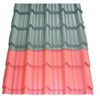 Quality Blue Metal Roof Panels Antique Glazed Tile Water Proof 0.3-0.6mm Thickness for sale