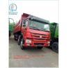 Buy cheap Dump Tipper Truck Special Dump Truck25 ton 8 x 4 Unloading Heavy Duty Trucks , EURO II 371 Horsepower from wholesalers