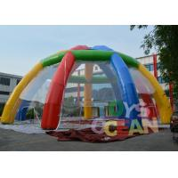 Wholesale Giant Customized Rainbow Color Outdoor Inflatable Marquee Party Tent from china suppliers