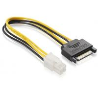 Wholesale SATA 15 pin Male To ATX 4 pin Power Extension Cables For Power Supply ISO9001:2008 from china suppliers