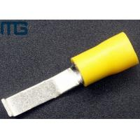 Quality Insulated  blade cable wire terminals with PVC insulation , Tin-plated copper ,available in avarious colors for sale