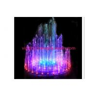 Wholesale Musical Water Dancing Light Water Fountain Equipment For Pools / Ponds Full Sets from china suppliers