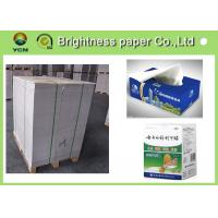 Wholesale Lightweight White Back Duplex Board Paper Low Surface Roughness from china suppliers