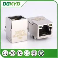 Wholesale KRJ-SH105GYNL 100M cat5 Ethernet magnetc RJ45 Shielded Connector module with LED from china suppliers