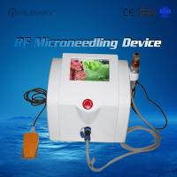 Wholesale Portable equipment Fractional RF microneedle / micro needle skin tightening machine / acne scar removal rf needle machin from china suppliers