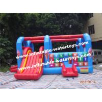 Wholesale Plato 0.55mm Slide Kids Inflatable Combo Bouncer for Entertainment from china suppliers