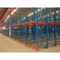 Wholesale Industrial steel structure gravity flow racking for warehouse storage , 1500KG from china suppliers