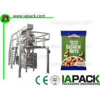 Wholesale Automatic Form Fill Seal Machine with Multi Head Weigher for Cashew Nuts Packing Snacks Packing Machine from china suppliers