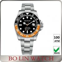 Quality Unqiue Design Nice Ladies Dive Watch , Stainless Steel Waterproof Watches For Diving for sale