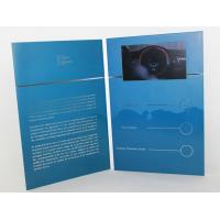 "Wholesale 5"" silver printing Video Brochure Card , fair display lcd video business cards from china suppliers"