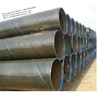 China API 5L X-65 PSL2 Spiral Weld Tube/3LPE epoxy coated steel pipe/SSAW/LSAW carbon steel water line pipe/welded steel pipe on sale