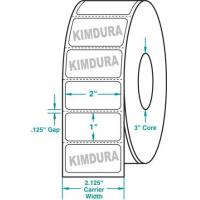 "Wholesale Thermal Transfer White Kimdura Roll Labels White 2"" x 1"" from china suppliers"