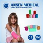 Wholesale Free Samples Low PriceOrthopedicPlaster Fabric Bandage Medical FiberglassCastingTape Medical Cohesive Bandge from china suppliers