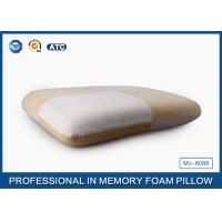 Wholesale Anti-allergic Jacquard Velour Traditional Memory Foam Pillow Perfect In Head Support from china suppliers