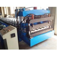 Buy cheap Glazed roof sheet forming machine from wholesalers
